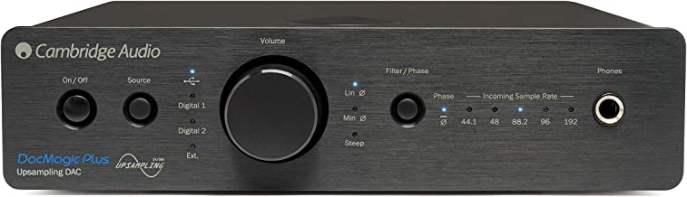 Cambridge Audio Dac MagicPlus - Convertidor de audio, negro