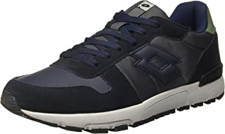 Lotto Men's Runner NVY Dk/Asphalt Track and Field Shoes-11 UK/India (45 EU) (8907181770550)