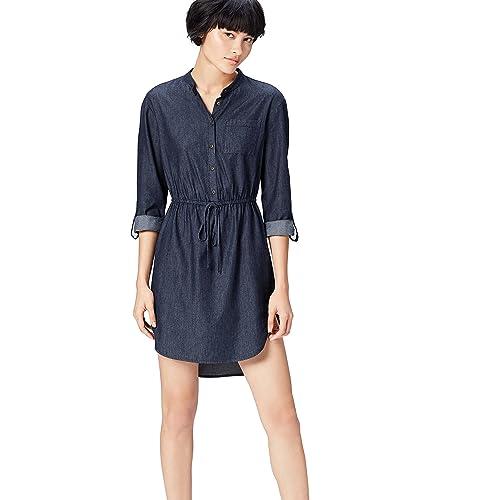 bd97246594bc0 Denim Shirt Dress  Amazon.co.uk