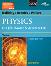 Wiley's Halliday / Resnick / Walker Physics for JEE (Main & Advanced), Vol 1, 3ed, 2020