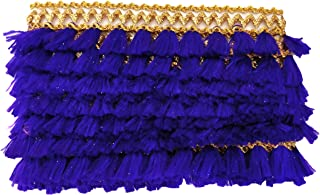 Sofias Fashion DIY Sofias Piping Lace - 2.5 Metres - Make Your Own Designer Wear - DIY - Do It Yourself ! 2.5M Purple