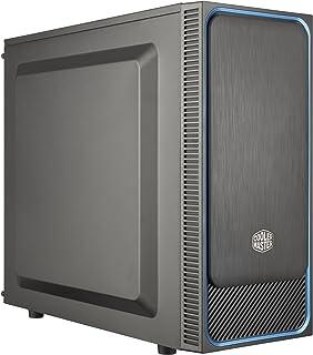 Cooler Master MasterBox E500L Blue Computer Case 'ATX, microATX, Mini-ITX, Blue, Solid Side Panel' MCB-E500L-KN5N-S00