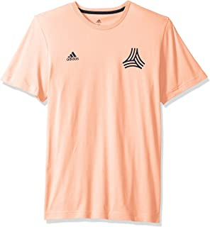 World Cup Soccer Men's Soccer Tango All Over Print Logo Tee, Haze Coral, Large