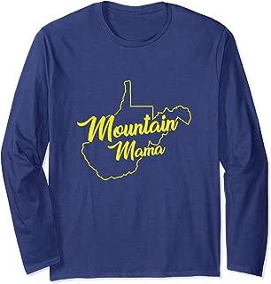 Mountain Mama West Virginia Long Sleeve T-Shirt