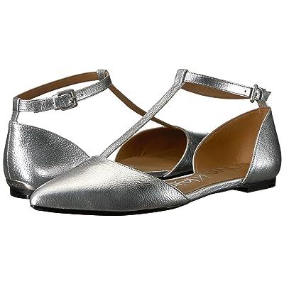Calvin Klein Ghita Flat (Silver 1) Women