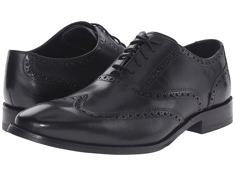 Cole Haan Williams Wingtip (Black) Men