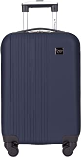 Travelers Club Cosmo Hardside Spinner Luggage, Navy Blue, Carry-On 20-Inch