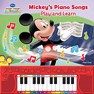 Mickey's Play and Learn Piano Songs