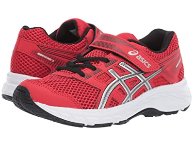 ASICS Kids Gel-Contend PS (Toddler/Little Kid) (Classic Red/Silver) Boys Shoes