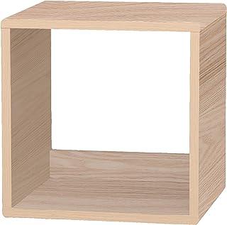 Marque Amazon - Movian Cube de rangement modulaire en bois MDF, Beige, 34.9 x 29 x 34.4 cm