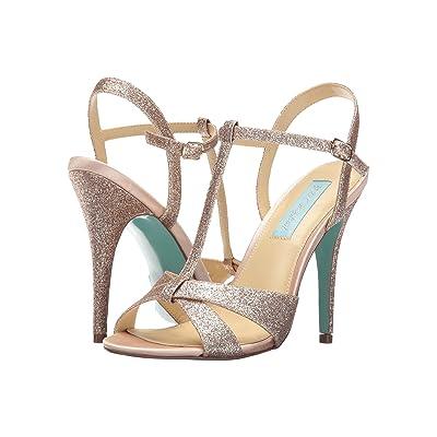 Blue by Betsey Johnson Teena (Champagne Glitter) High Heels