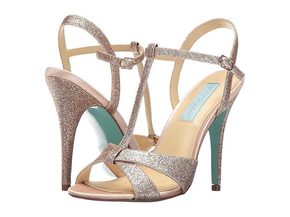 Blue by Betsey Johnson Teena (Champagne Glitter) High Heels