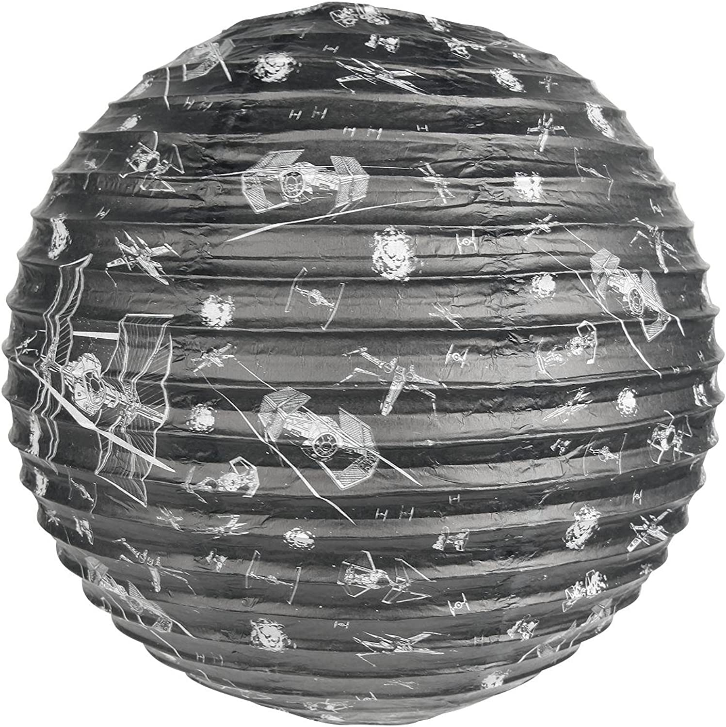 Star Wars XWing v TieFighter Spherical Paper Light Shade