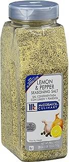 McCormick Culinary Lemon & Pepper Seasoning Salt, 28 oz