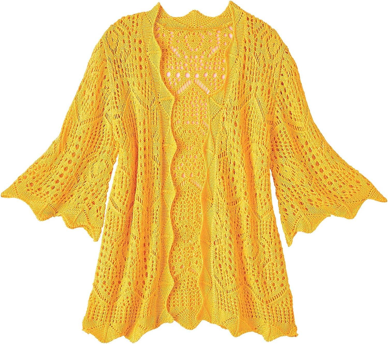AmeriMark Women's Crocheted Shrug
