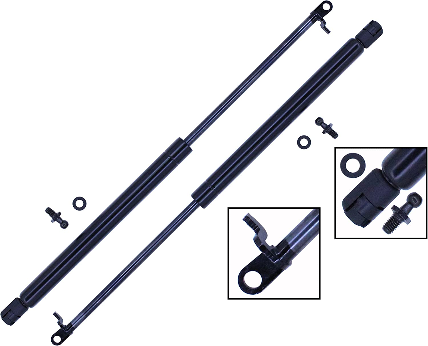2 Pieces Set Tuff Support Trunk To 1993 1997 Lift Rapid rise Supports favorite Lid