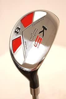 Majek Golf All Hybrid #8: +2 Inches Longer Than Men's Standard Length, Extra Big & Tall XL, Extra Long XXL, Stiff Flex Right Handed New Utility S Flex Club