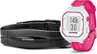 Garmin Forerunner 25 - Blanco/Rosa HRM con pulsómetro