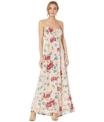 Roxy Brilliant Stars Maxi Dress (Ivory Cream New Flowers) Women