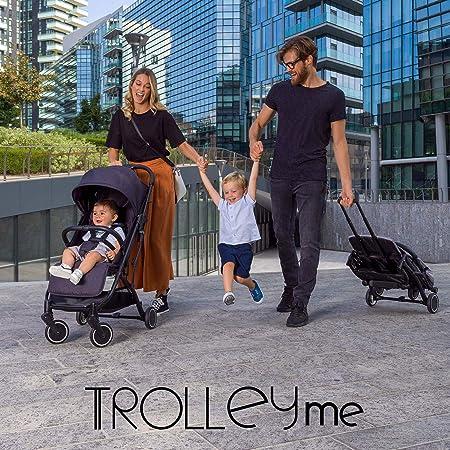 -Chicco - Buggy Trolley Me - Opvouwbare Buggy met Trolley-functie - Compact - Verstelbare Rugleuning - Vanaf Geboorte tot 15 kg - Emerald-aanbieding
