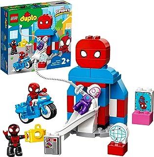 LEGO 10940 DUPLO Marvel Spider-Man Hoofdkwartier Spidey en Zijn Geweldige Vrienden TV Show, Constructie Speelgoed Voor Peu...