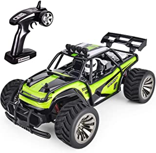 GotechoD High Speed Remote Control Car for Boys, Offroad RC Car Fast RC Truck Remote Control Truck RC Rock Crawler RC Racing Car for Boys Toys 5 16 Years Old Kids Gift Green