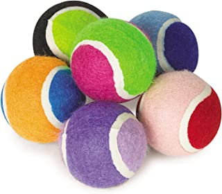 Zanies Mini Tennis Balls for Dogs, 6-Packs