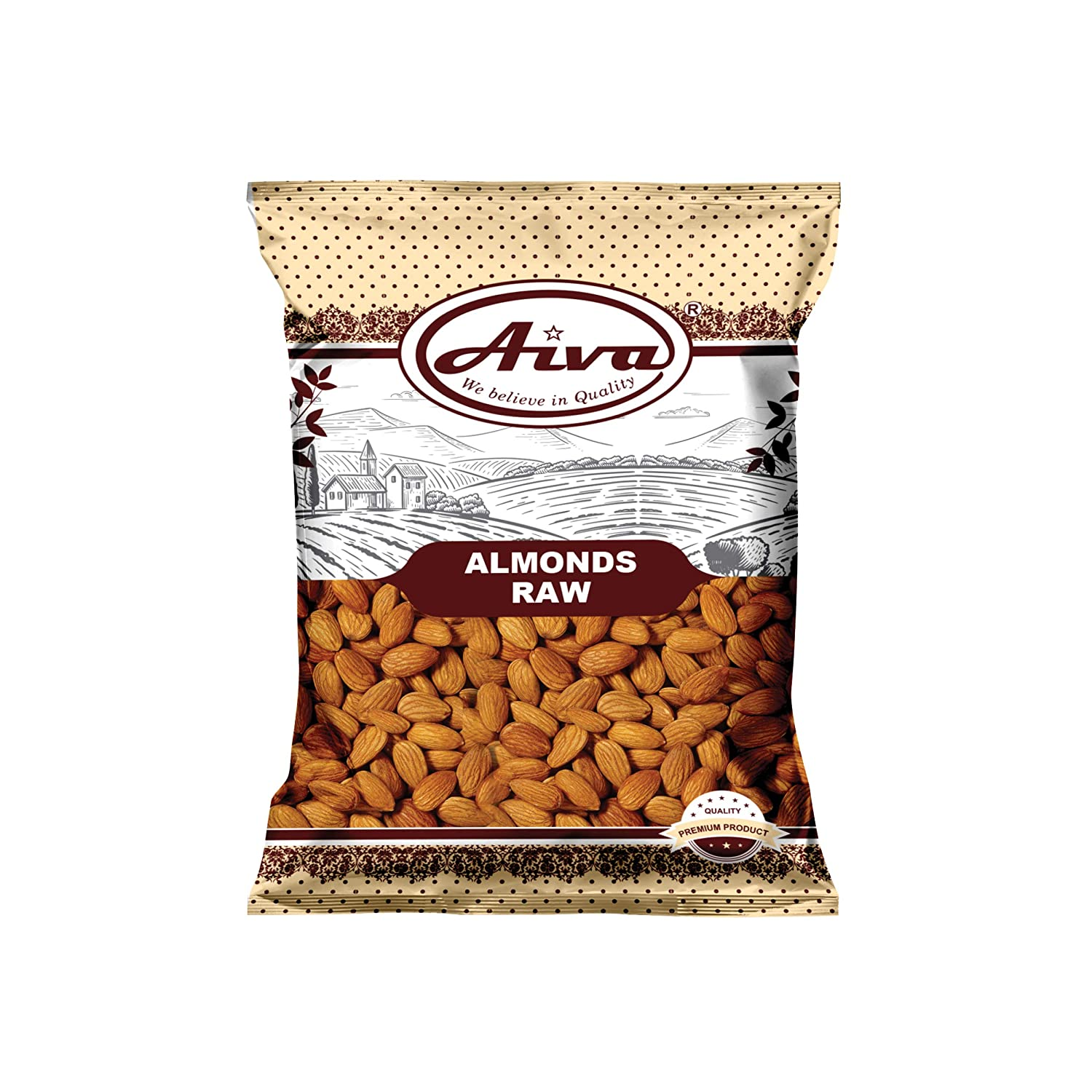 AIVA - Almonds Shelled Raw 10 Packing lbs. 4 years warranty May Vary Bulk lowest price