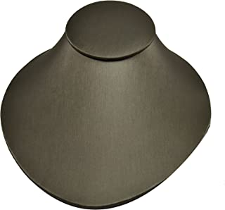 """Regal Pak ® Steel Grey Faux Leather Lay-Down Bust 6 3/4""""X8""""X3 1/2""""H"""