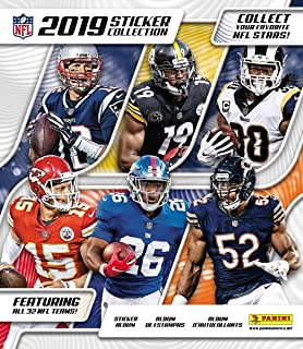 2019 Panini NFL Football Sticker Collection Album (includes 10 free starter stickers)