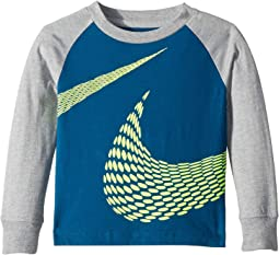 Gradient Stripe Swoosh Tee (Toddler)
