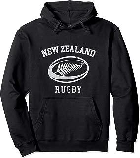 New Zealand Rugby Hoodie - NZ Rugby Hooded Sweatshirt