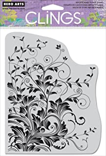 Hero Arts CG509 Cling Stamps, Leafy Vines