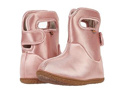 Bogs Kids Baby Bogs Metallic (Toddler) (Ballet Pink) Girl