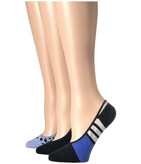 Kate Spade New York 3-Pack Scuba Stripes Liner Socks