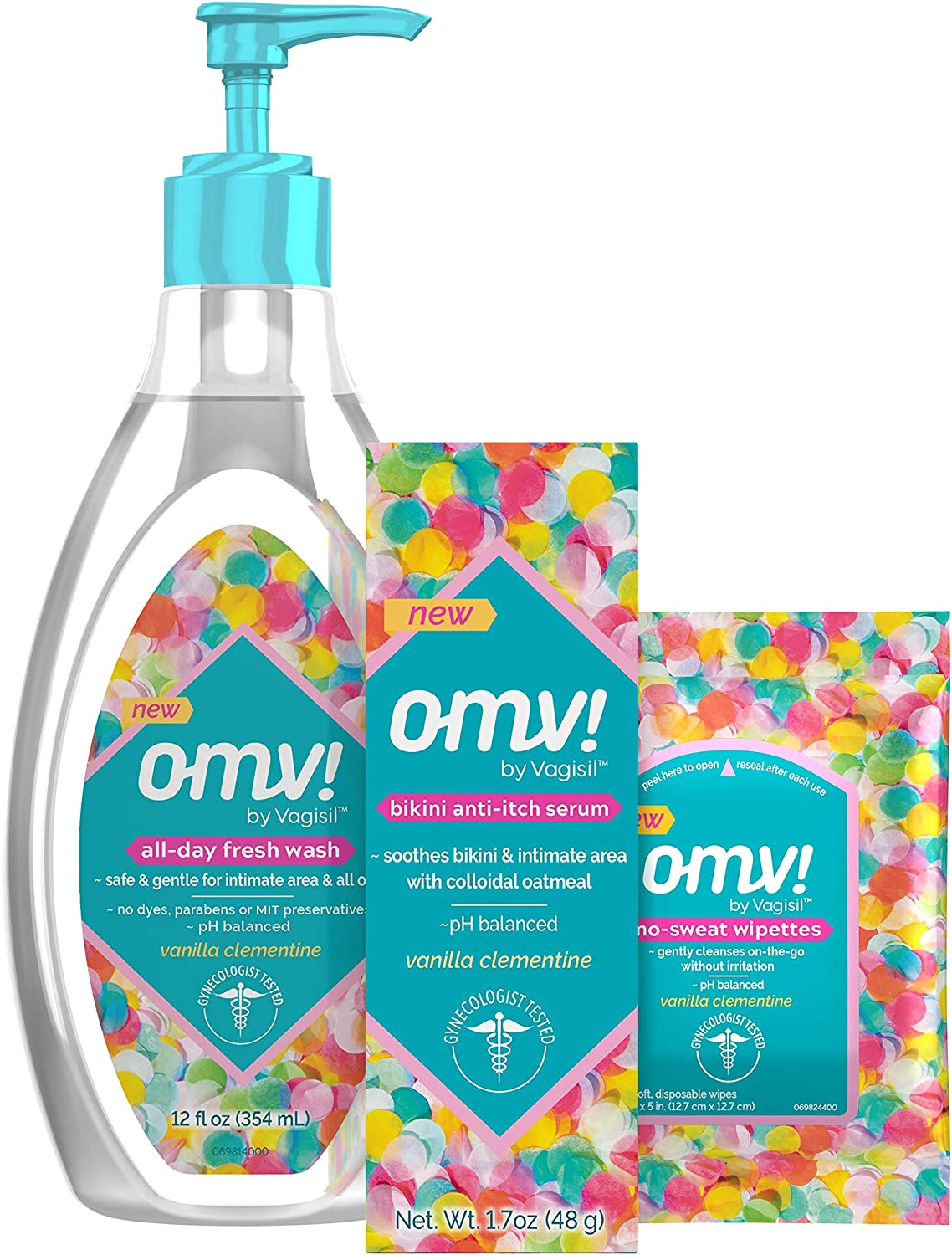 Limited Special Price Vagisil OMV Intimate Gynecologist Gifts Tested for 1 Multipack Women:
