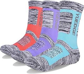 YUEDGE, Mujeres Calcetines de Senderismo Trekking Anti ampollas Transpirables Corriendo Calcetines Deportivos