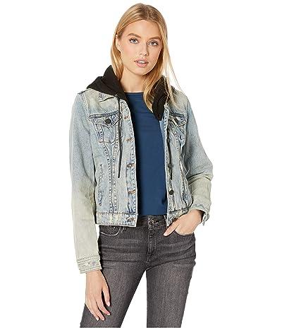 Blank NYC Denim Jacket with Hood in Casual Encounter (Casual Encounter) Women