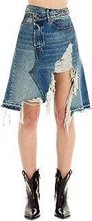 R13 Luxury Fashion Womens R13W7192485 Light Blue Skirt | Season Permanent