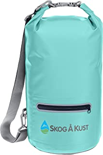 Skog Å Kust DrySåk Waterproof Floating Dry Bag with Exterior Zippered Pocket | for..