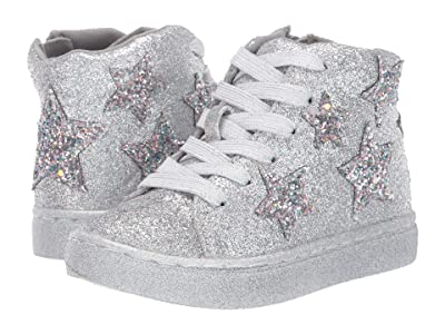 Steve Madden Kids Taustinn (Toddler/Little Kid) (Silver) Girl