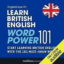 learn british english word power 101