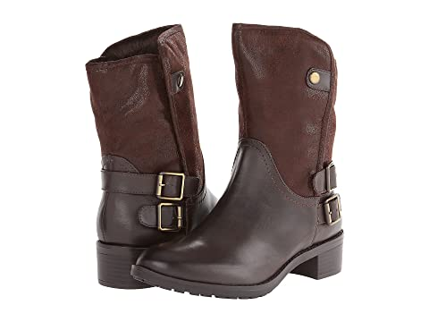 Womens Boots Naturalizer Metro Oxford Brown Smooth/Microfiber