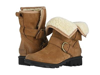 SOREL Phoenixtm Moto Cozy (Camel Brown) Women