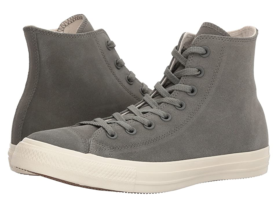 Converse Chuck Taylor All Star Nubuck Hi (River Rock/Driftwood/Driftwood) Classic Shoes
