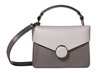 Botkier Nolita Crossbody (Pewter Combo) Cross Body Handbags
