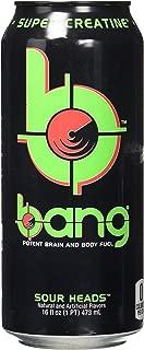 VPX Bang Sour Heads 12 per Case - 16 Fl Oz (12 Count) (1 PT) 473 ml