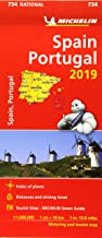 Spain & Portugal 2019 - Michelin National Map 734: Map (Michelin National Maps)