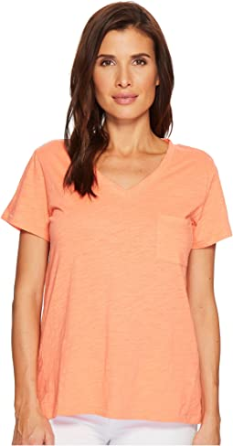 Pendleton - V-Neck Pocket Tee