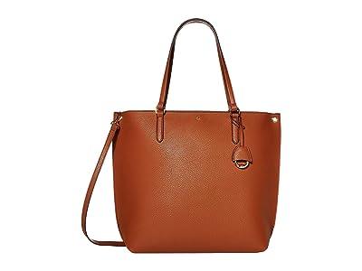 LAUREN Ralph Lauren Merrimack Abby 33 (Lauren Tan) Tote Handbags